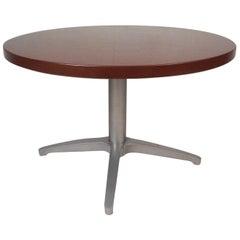Midcentury Herman Miller Style Round Coffee Table