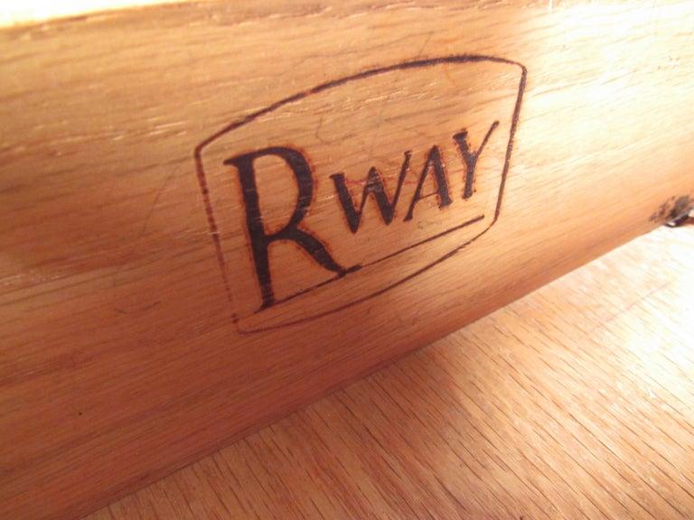 American Midcentury Highboy Dresser by R-Way