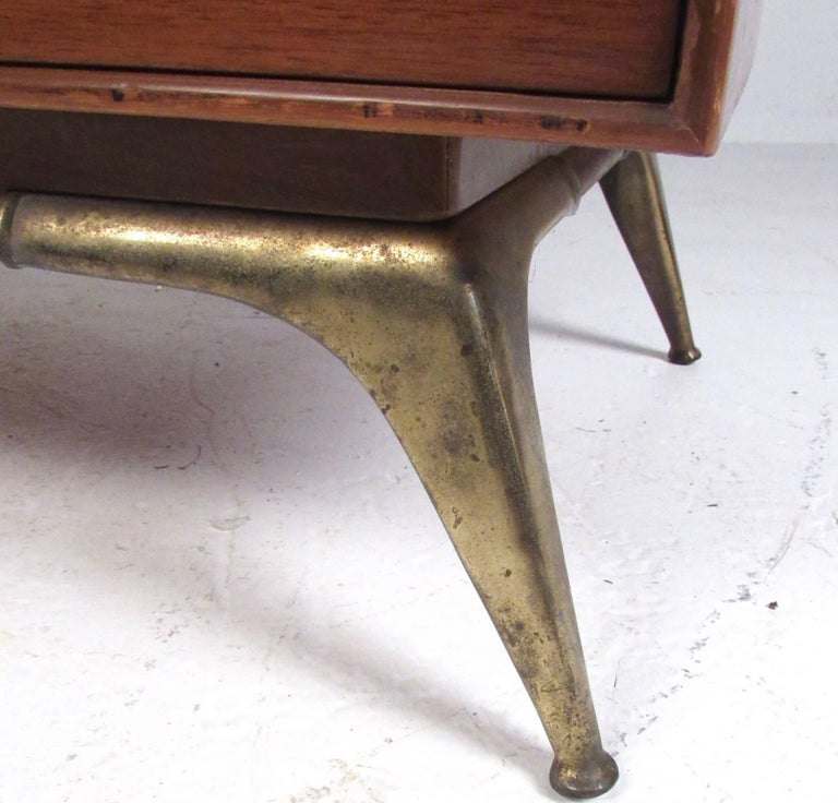 Mid-20th Century Midcentury Highboy Dresser by R-Way