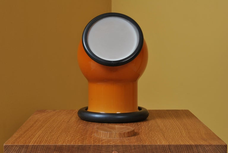 Midcentury Holmegaard Lamp by Michael Bang, 1972 For Sale 4