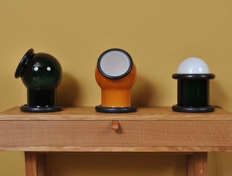 Midcentury Holmegaard Lamp by Michael Bang, 1972 For Sale 5