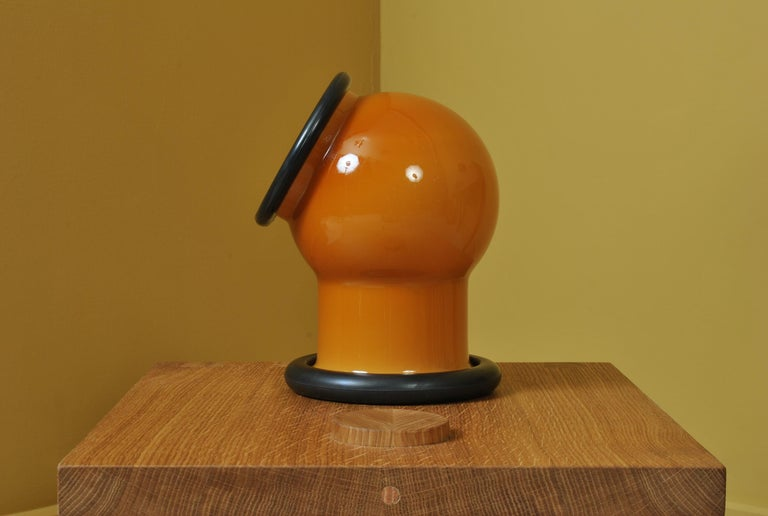 Mid-Century Modern Midcentury Holmegaard Lamp by Michael Bang, 1972 For Sale