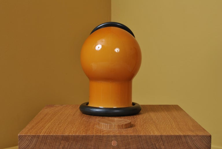 Danish Midcentury Holmegaard Lamp by Michael Bang, 1972 For Sale