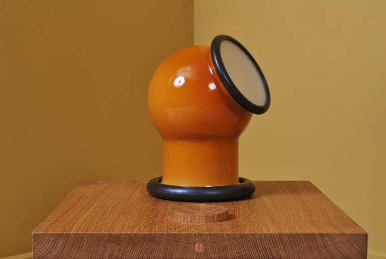 20th Century Midcentury Holmegaard Lamp by Michael Bang, 1972 For Sale