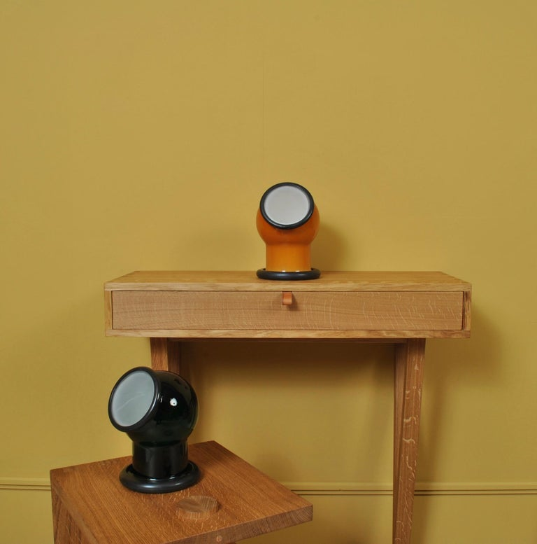 Glass Midcentury Holmegaard Lamp by Michael Bang, 1972 For Sale