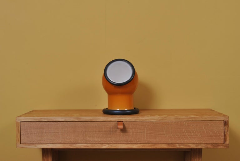 Midcentury Holmegaard Lamp by Michael Bang, 1972 For Sale 1