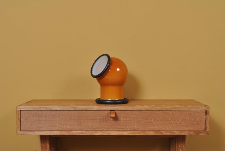 Midcentury Holmegaard Lamp by Michael Bang, 1972 For Sale 2