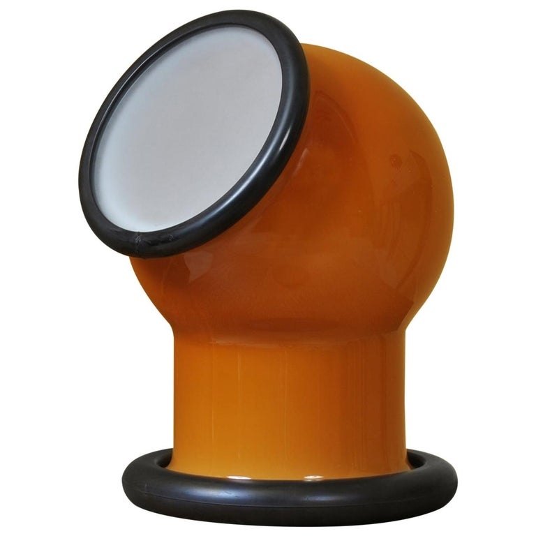 Midcentury Holmegaard Lamp by Michael Bang, 1972 For Sale