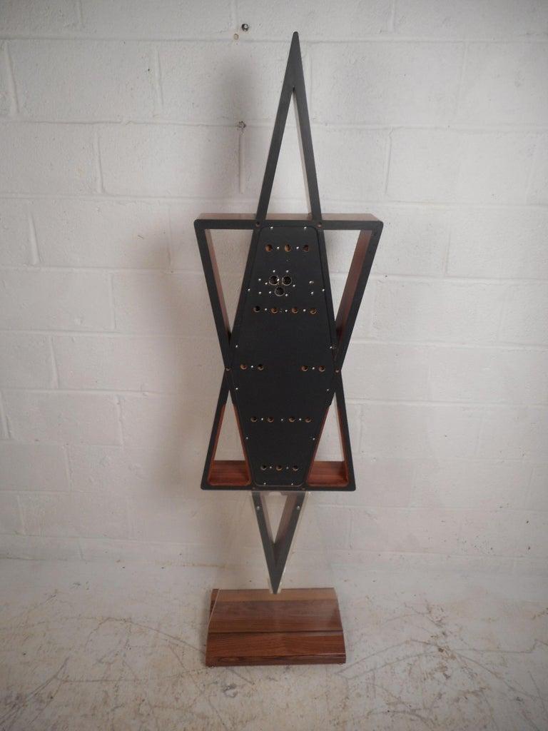 Mid Century Modern Midcentury Howard Miller Floor Clock For