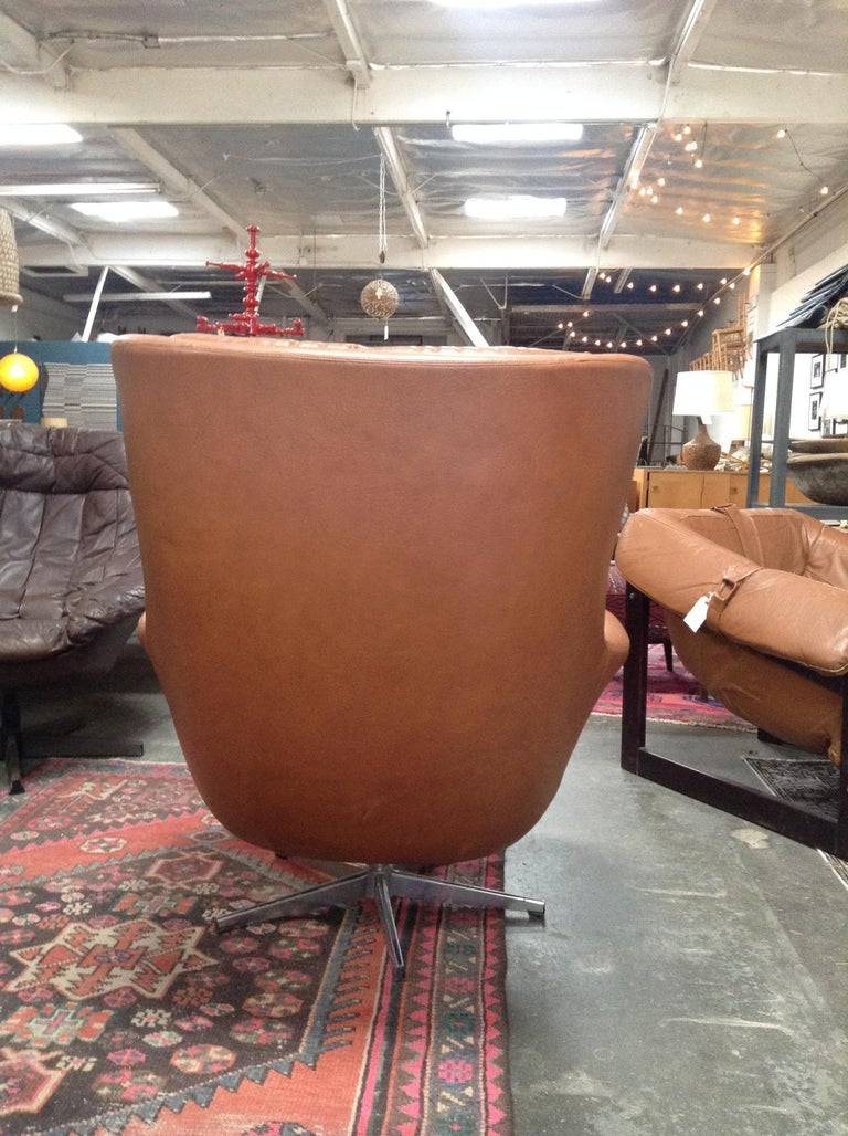 Midcentury HW Klein Chair In Good Condition For Sale In Los Angeles, CA