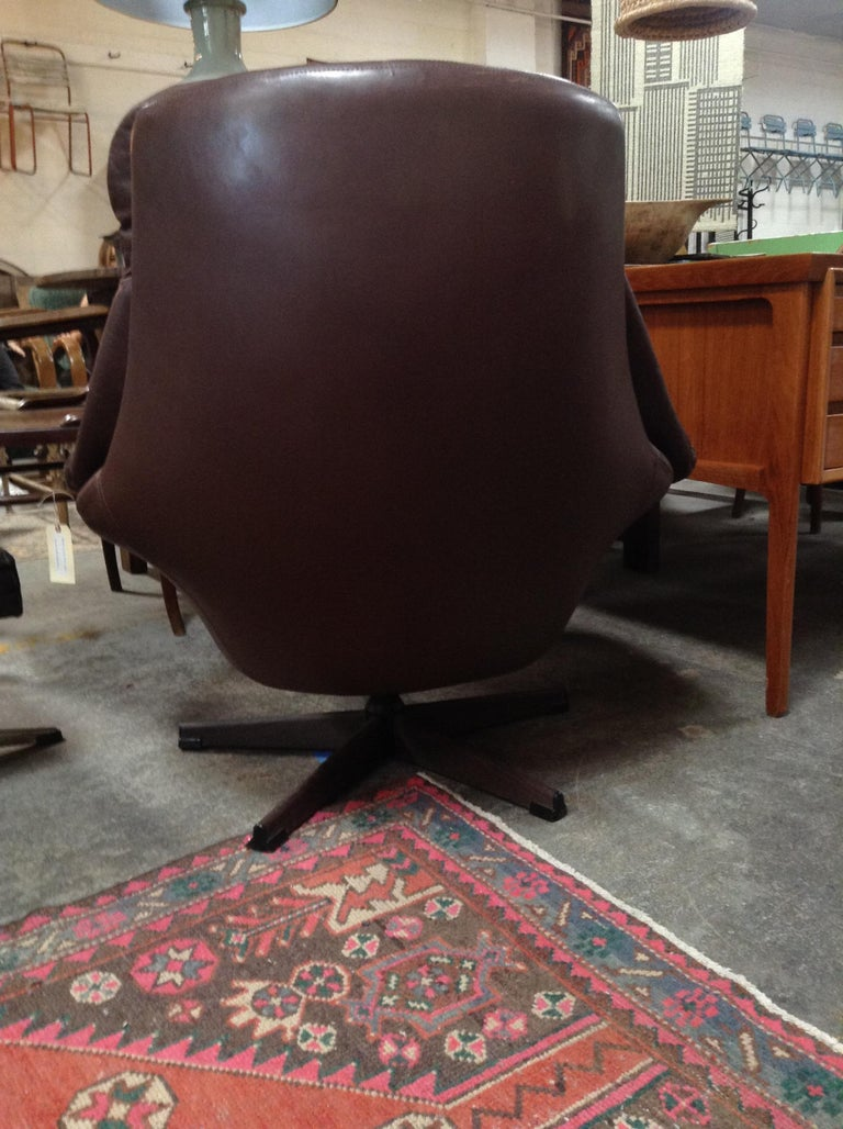 20th Century Midcentury HW Klein Lounge Chair For Sale