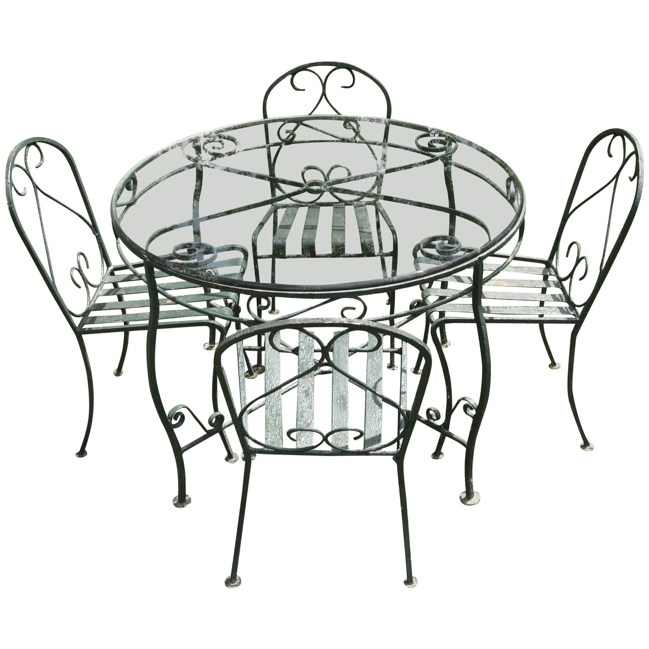 1940s patio and garden furniture 89 for sale at 1stdibs Kitchen Steel Cabinet 1970s