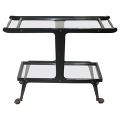 Midcentury Italian Bar Cart Design Gio Ponti