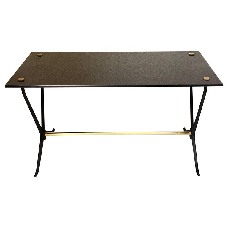 Midcentury Italian Coffee or Cocktal Table by Angelo Ostuni For Sale