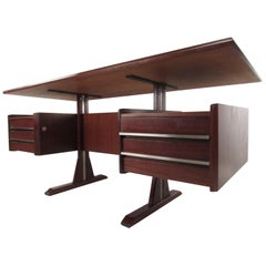 Midcentury Italian Floating Top Desk