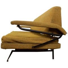 Midcentury Italian Modern Sofa Day Bed Styled Osvaldo Borsani