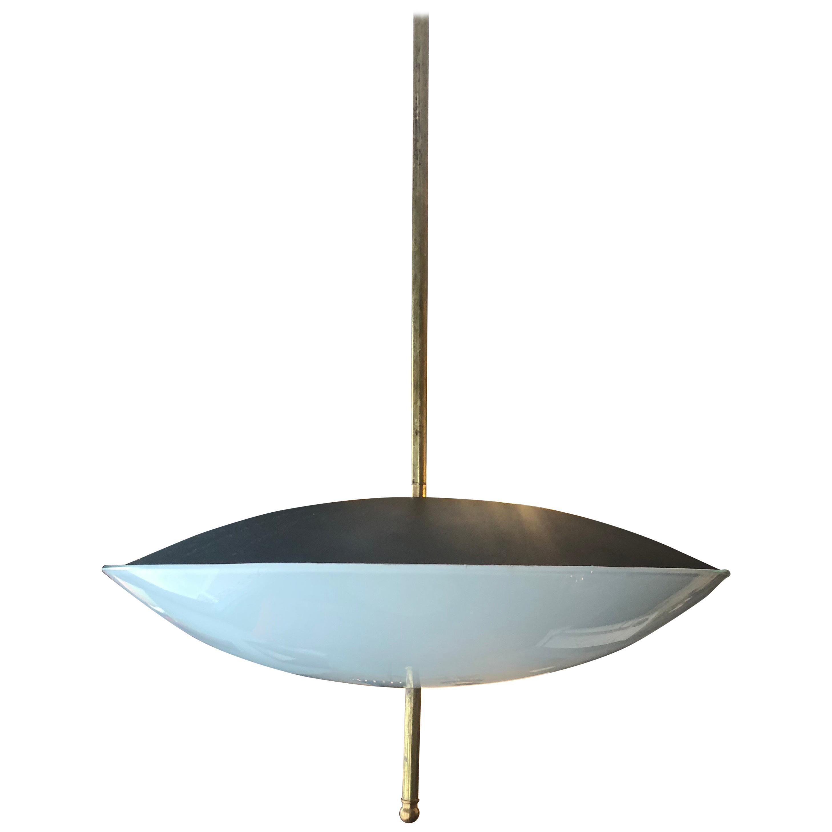 Midcentury Italian Pendant Ceiling Light