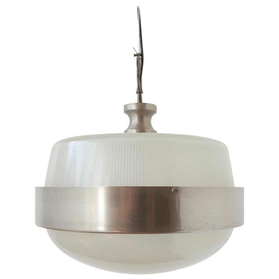 Midcentury Italian Pendant Light Attributed to Artemide