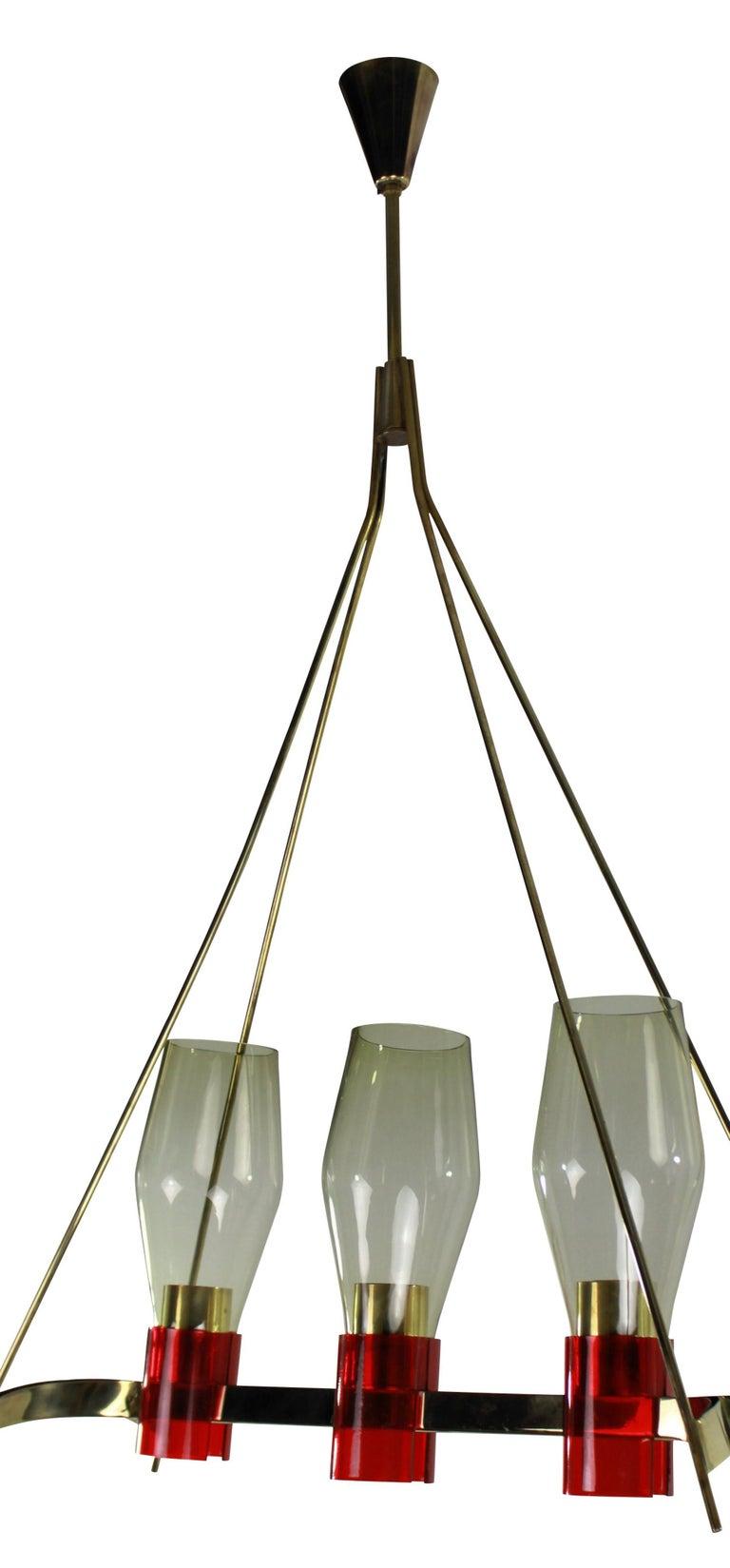 Mid-Century Modern Midcentury Italian Pendant Light