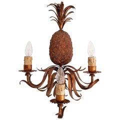 Midcentury Italian Pineapple Sconce