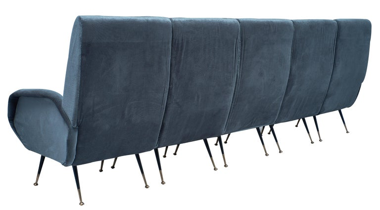 Midcentury Italian Sectional Sofa For Sale 5