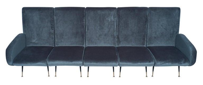 Mid-Century Modern Midcentury Italian Sectional Sofa For Sale