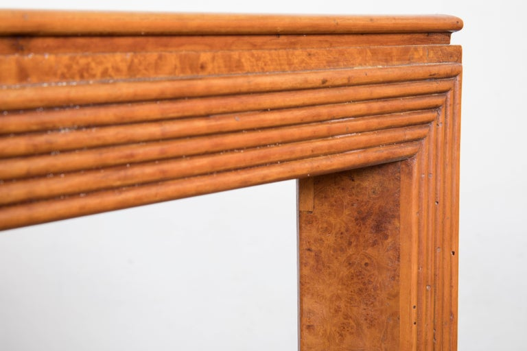 Midcentury Italian Walnut Wood Dining Table Attributed to Paolo Buffa, 1940s For Sale 3