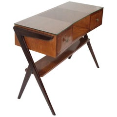 Midcentury Italian Writing Desk by Vittorio Dassi