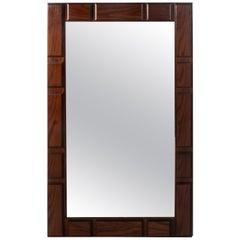 Midcentury Jacaranda Mirror