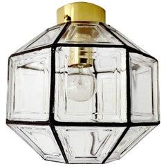 1960s Jakobsson Glass Pendant Light