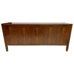 Midcentury Jon Stuart Credenza Sideboard Cabinet Dresser