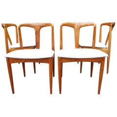 Midcentury Juliane Dining Chairs by Johannes Andersen