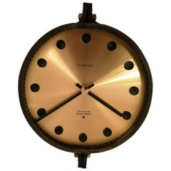 Midcentury Junghans Ato-Mat Wall Clock