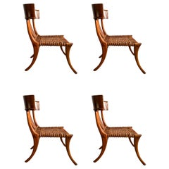 Midcentury Klismos Chairs 'Set of 4'