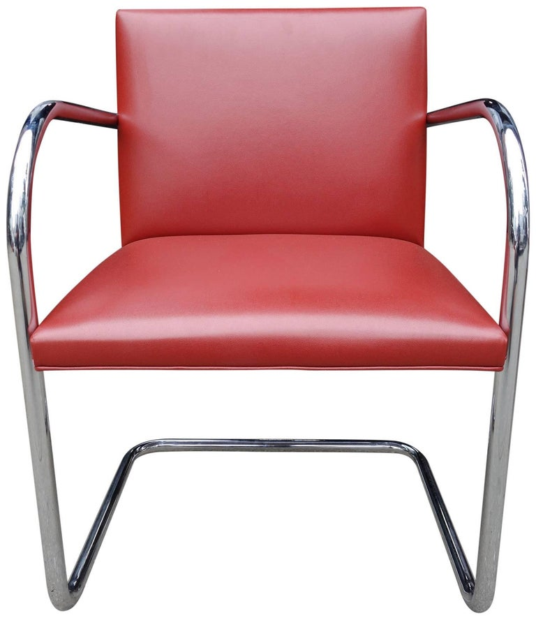 North American Midcentury Knoll Brno Chairs by Mies van der Rohe For Sale