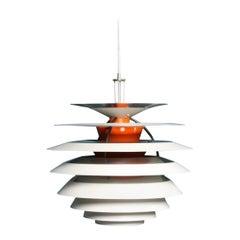 """Midcentury """"Kontrast"""" Pendant by Poul Henningsen, Made in Denmark, 1960s"""