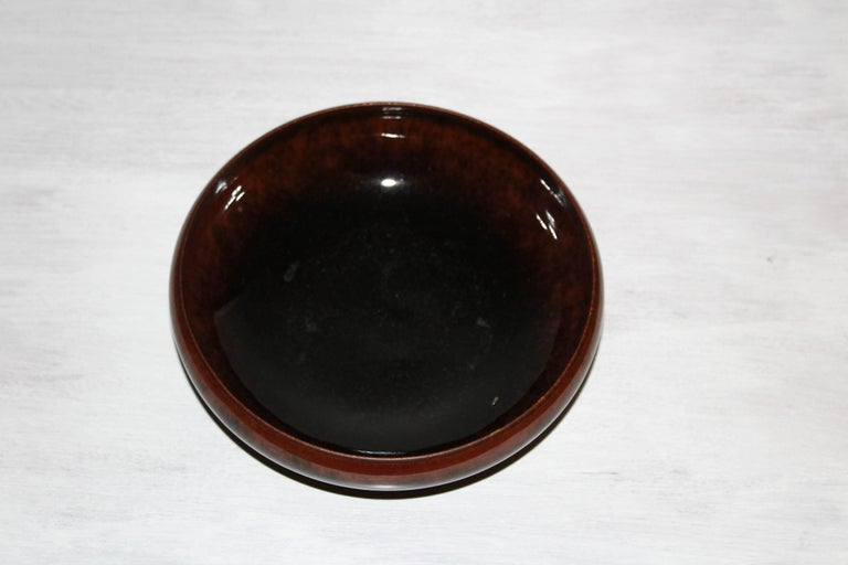 Mid-20th Century Midcentury Large Ceramic Bowl by Carl-Harry Stålhane for Rörstrand For Sale