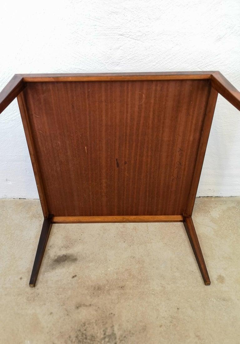 Midcentury Large Coffe Table Rosewood, Severin Hansen Denmark. For Sale 4
