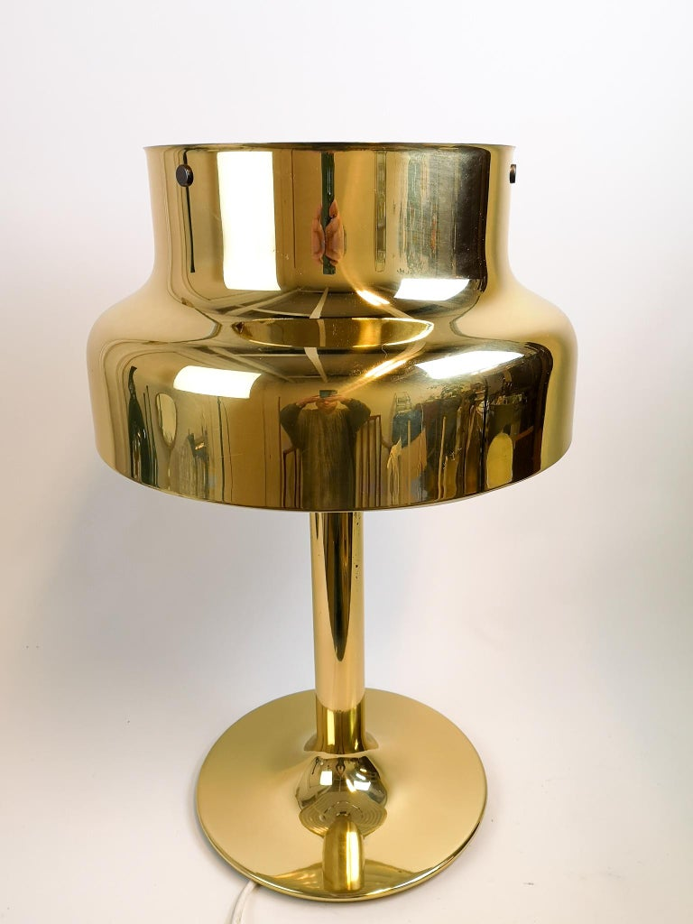 Scandinavian Modern Midcentury Large Table Lamp Bumling by Anders Pehrson for Ateljé Lyktan, 1960s