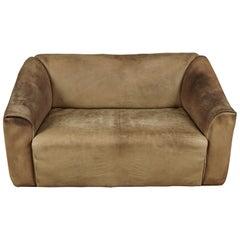 Midcentury Leather De Sede DS47 Sofa from Switzerland, circa 1970