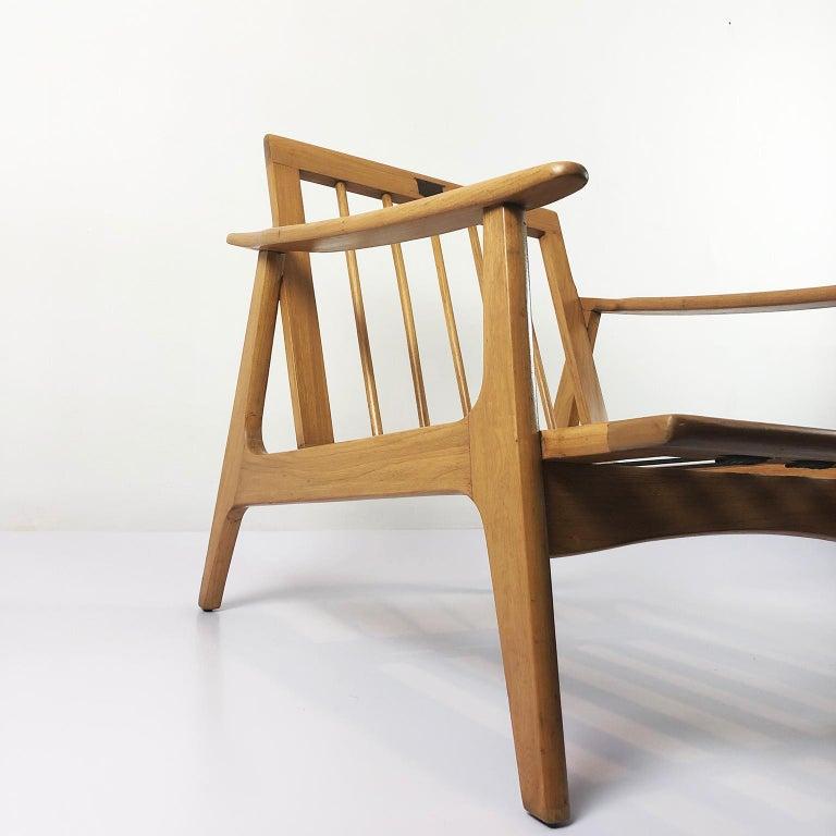 "Mid-Century Modern Midcentury Livingroom Set by ""Silleria La Malinche"" For Sale"