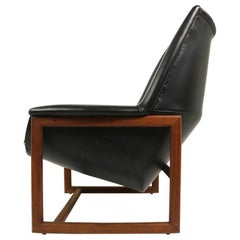 Mid Century Lounge Chair after Risom Big Chair