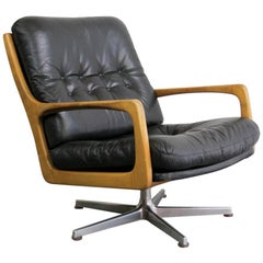 Midcentury Lounge Chair by Eugen Schmidt, circa 1960s