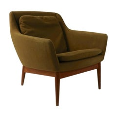 Mid Century  Lounge Chair by Gerhard Berg for LK Hjelle Norway