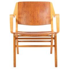 Midcentury Lounge Chair by Hvidt & Mølgaard, Made in Denmark