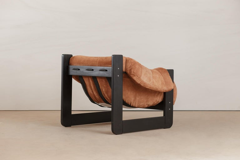 Mid-Century Modern Midcentury Lounge Chair by Percival Lafer, 1960s For Sale