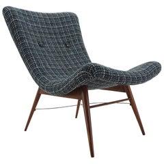 Midcentury Lounge Chair Designed by Miroslav Navratil, 1960s