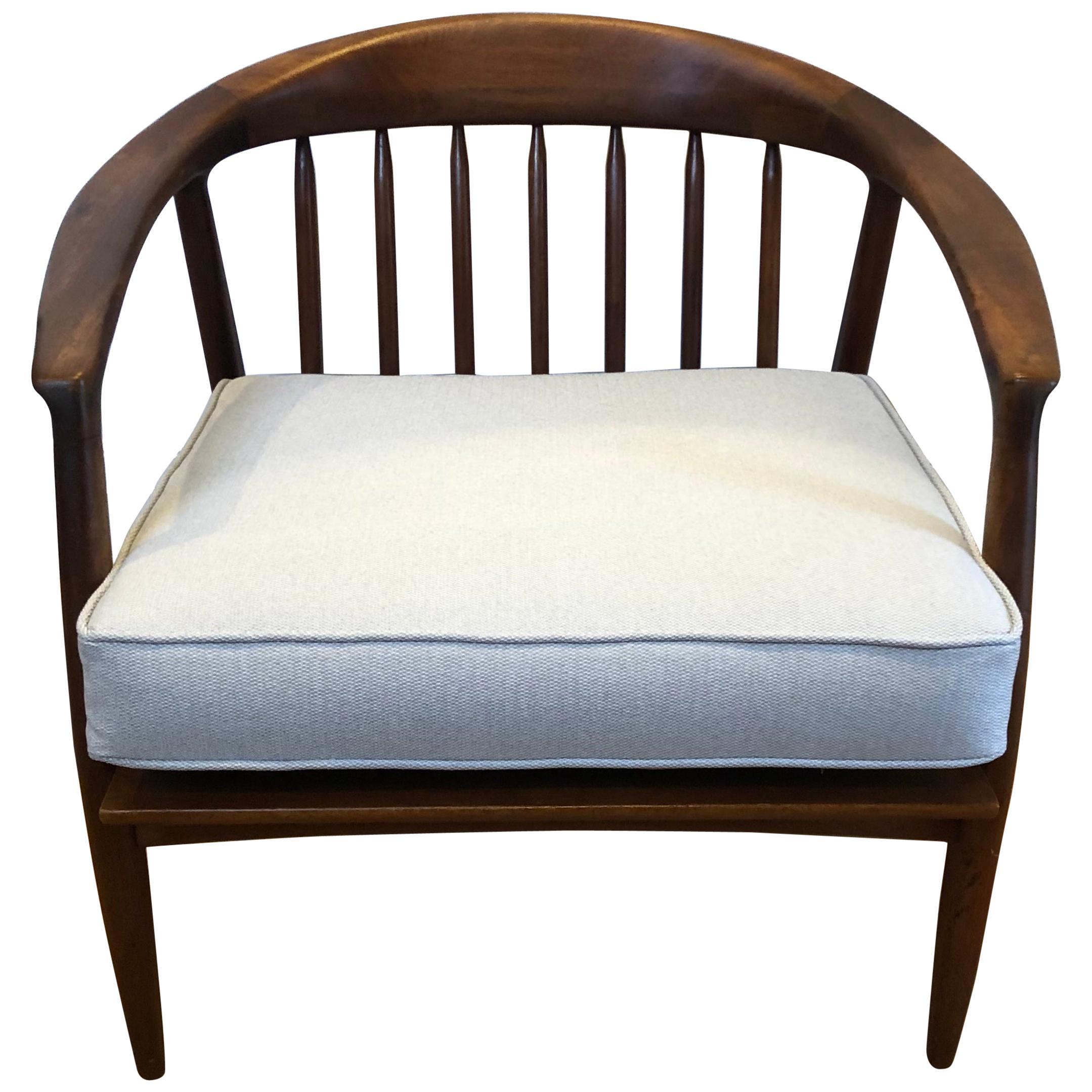 Midcentury Lounge Chair, Folke Ohlsson for DUX, Teak