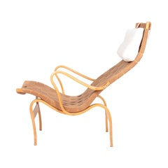 Midcentury Lounge Chair Model Pernilla 1 Designed by Bruno Mathsson