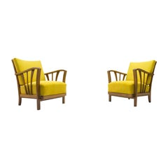 Midcentury Lounge Chairs, 1950s, Set of 2